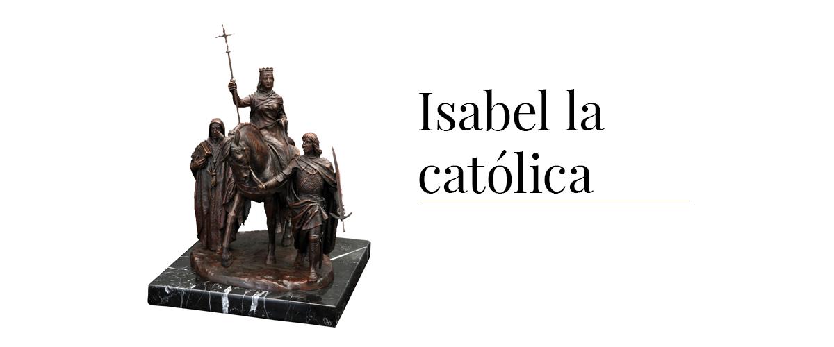 isabel la catolica escultura historica