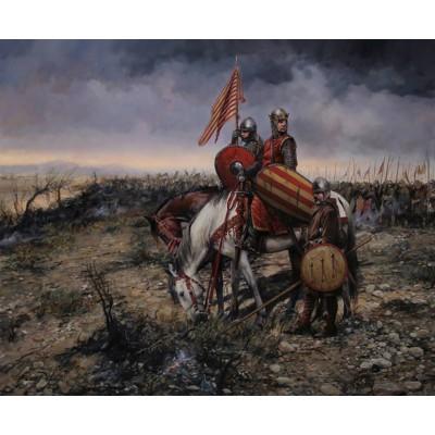 Escultura historica lamina dalmau batalla de las navas de tolosa