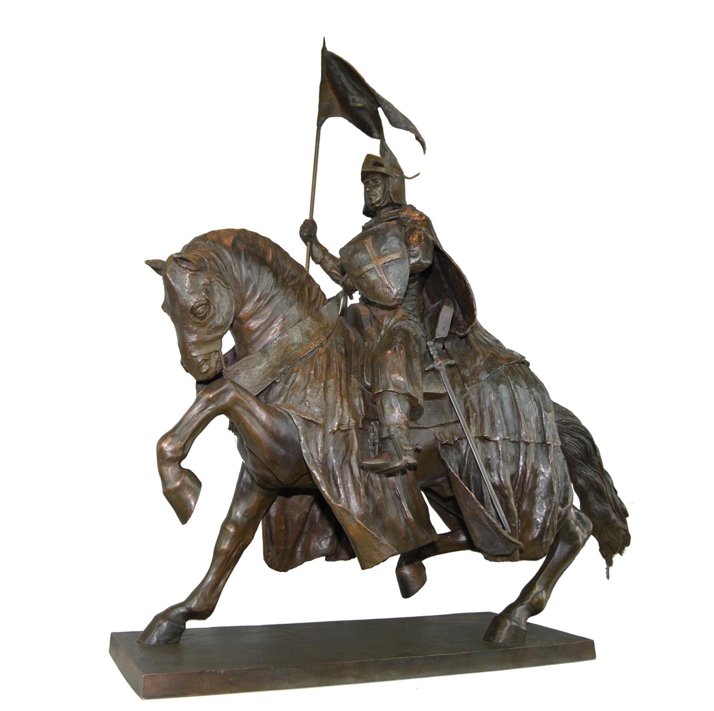 Escultura Caballero Templario historica en Madrid