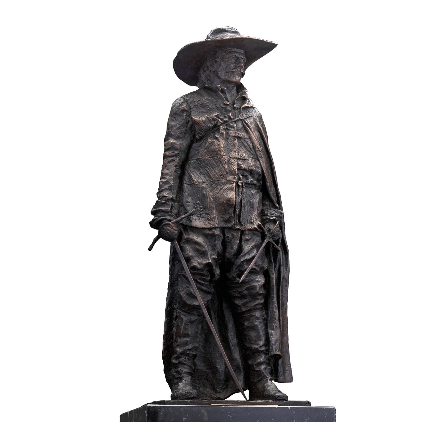 Escultura histórica Capitán Tercios de Flandes