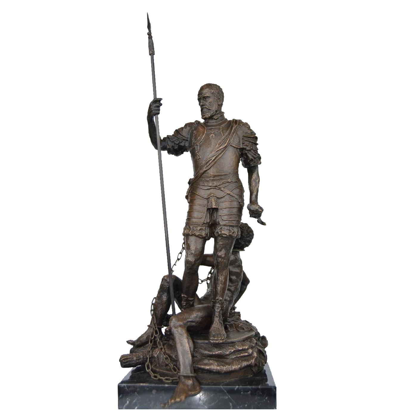 Carlos V y el Furor escultura historica madrid