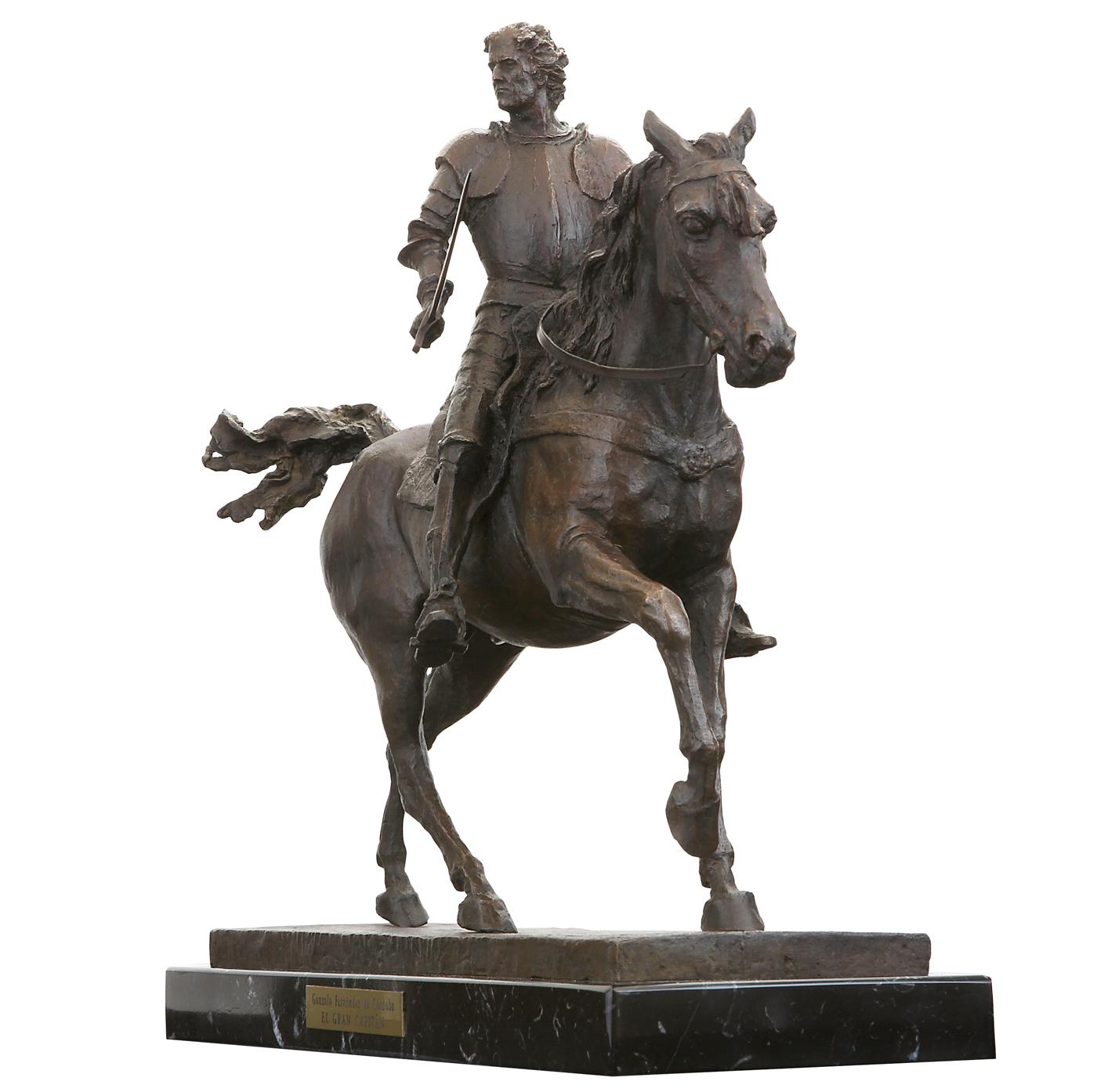 El Gran Capitán Escultura historica Madrid