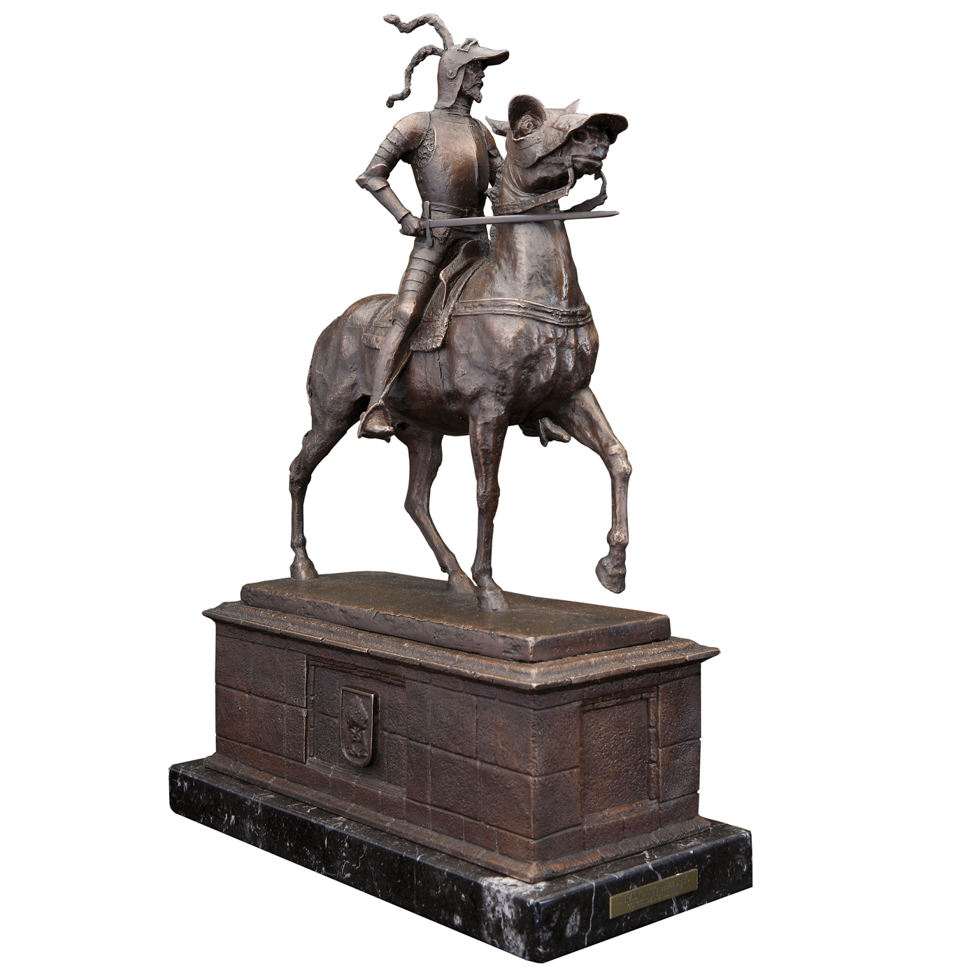 Escultura Francisco Pizarro historica madrid