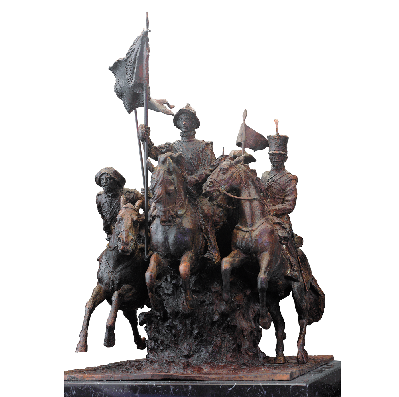 Escultura Héroes de Alcántara Madrid