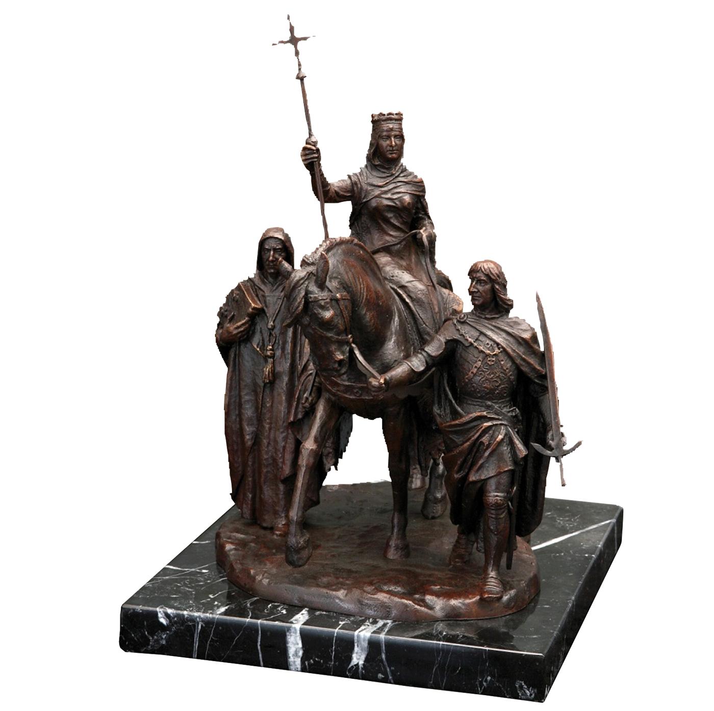 Escultura Isabel la Católica Madrid escultura histórica