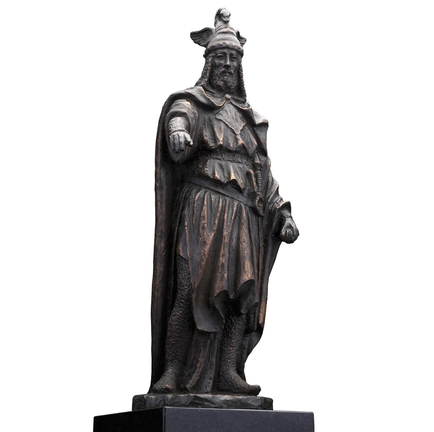 Escultura Jaime I el conquistador escultura historica madrid