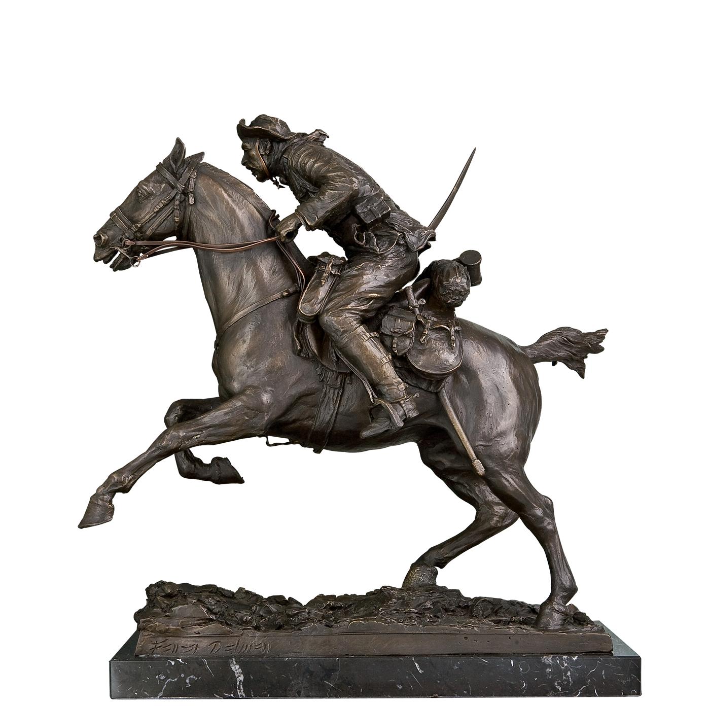 jinete de alcantara escultura historica madrid