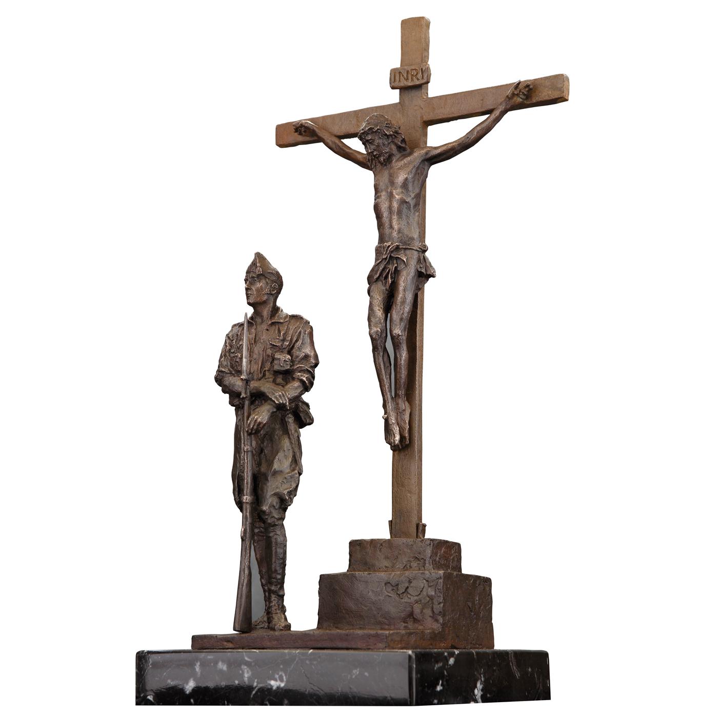 Legionario cristo de la buena suerte escultura historica madrid