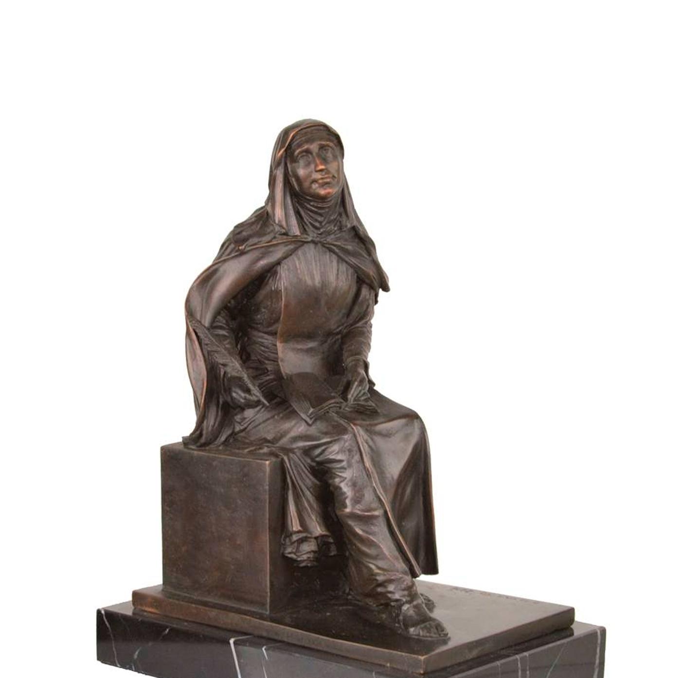 Santa Teresa de Jesús escultura historica madrid