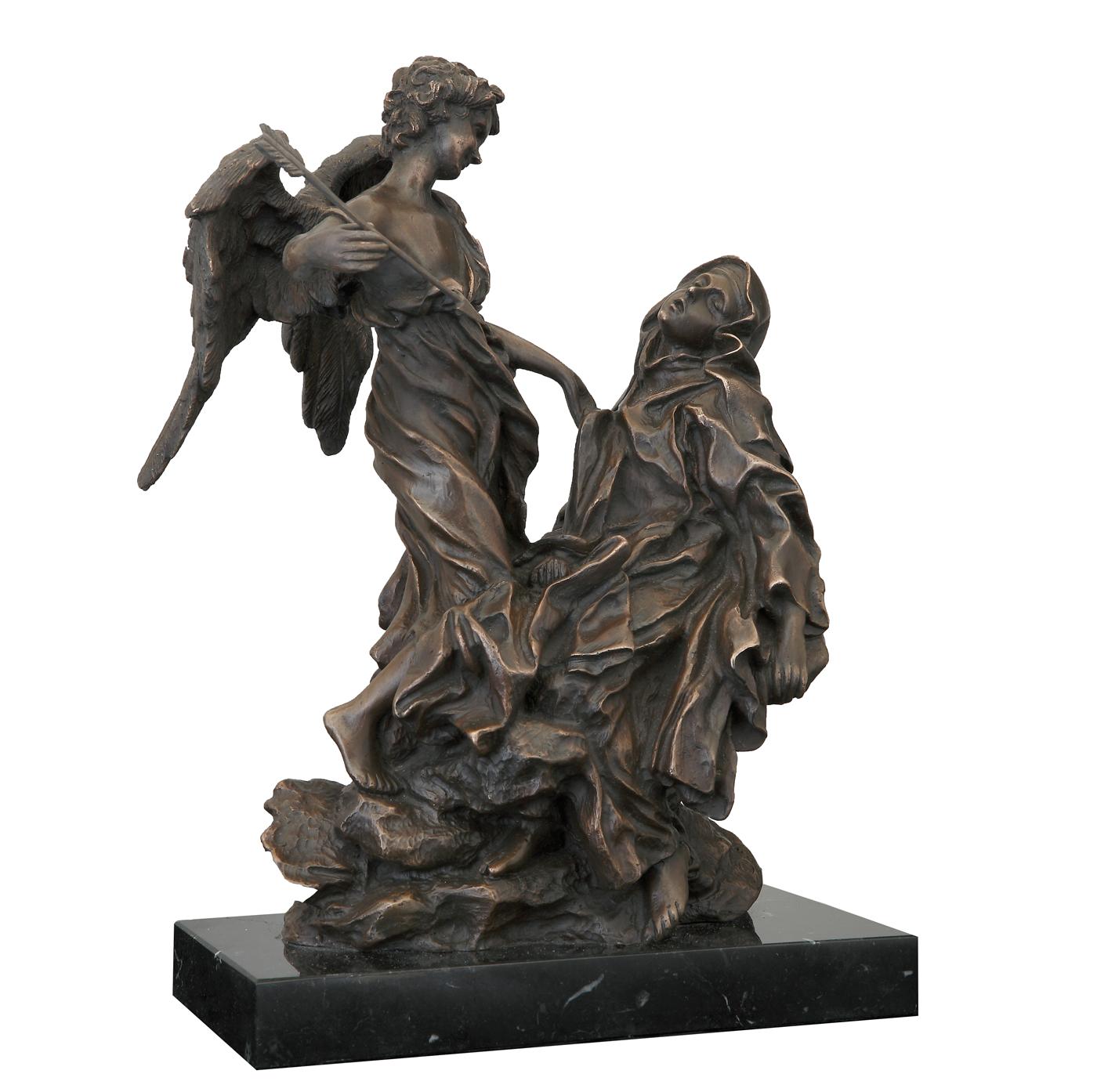 Escultura Santa Teresa historica Madrid